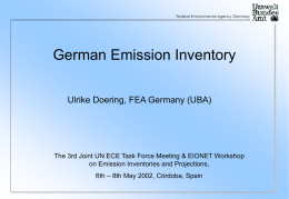 German National Inventory System, Ulrike Döringr