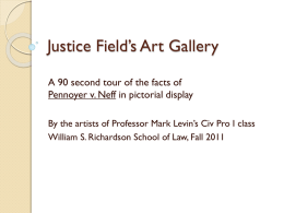 Justice Field`s Art Galleryx