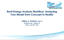 S10 Revit Energy Analysis Workflow Analyzing Your
