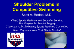 Scott Rodeo (Shoulder) Powerpoint Presentation