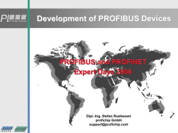 PROFIBUS Troubleshooting & Maintenance