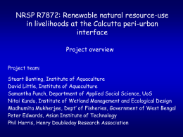 Renewable natural resource-use in peri
