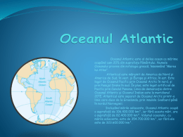 Oceanul Atlantic - Prezentare Power Point