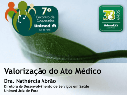 Slide 1 - Unimed Juiz de Fora