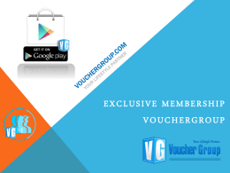 VoucherGroup.com Your Lifestyle Partner
