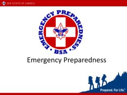 Emergency Preparedness   Definition of a Disaster • A disaster is a specific event which results in overwhelming physical, economic and/or emotional damage: • Results in.
