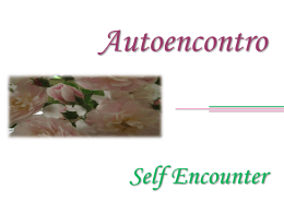 Autoencontro  Self Encounter   Se de fato anelas pela conquista da felicidade, tenta o autoencontro.  If in fact you aspire to conquer happiness, have a go at self-awareness.   Utilizando-te.