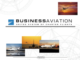 Russian Business Aviation sphere is an indispensable tool for doing business, it has been an accomplished fact and it is undeniable.