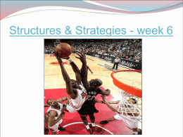 Structures & Strategies - week 6 Question Describe in detail, one method you  have used to gather information on your performance.