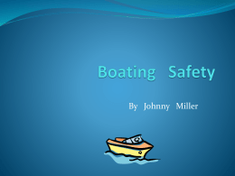 By Johnny Miller   Facts In boating accidents where there are drownings, 84% of the victims WERE NOT wearing life jackets.   Rule 1  You should.