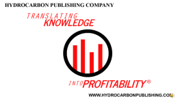 Hydrocarbon Publishing Co. in affiliation www.OpportunityCrudes.com hosts the biennial Opportunity Crudes Conferences.