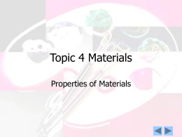 Topic 4 Materials - MsC