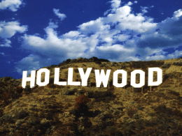 """Hollywood"" is often applied to any film or TV production location"