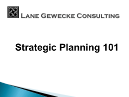 Strategic Planning PowerPoint.
