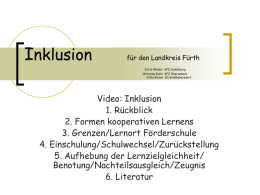Inklusion im Lkrs Fürth - Ink-Team