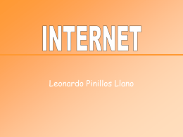 INTERNET - tecnociencia isc