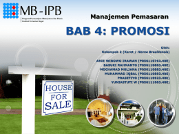 Slide Bab 4 – Promosi (Blog version)