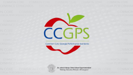 Common Core Georgia Performance Standards Facilitating Student-Led Discussions, K-12 Part 4: Using Student-Led Discussion to Assess Understanding—Secondary  Cynde Snider.