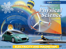 ELECTRICITY AND MAGNETISM Chapter Twenty-Two: Electricity and Magnetism 22.1 Properties of Magnets  22.2 Electromagnets 22.3 Electric Motors.