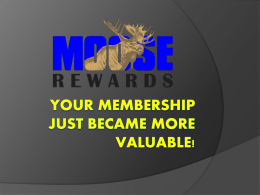 How will this program help you and the Moose?  Simply  by doing things within the fraternity that contribute to its growth and success, you can.
