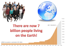 Population growth separated by economic status  Why do you think population is rapidly increasing in less developed countries and slowly increasing in.