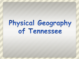 Tennessee Introduction The State  Fun Facts: 1. The nation's 36th largest state is size. 2.