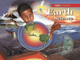 Studying Earth Science Chapter Two: The Science Toolbox • 2.1 Measurement  • 2.2 Measuring Time and Temperature • 2.3 Systems and Variables • 2.4