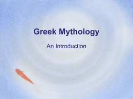 Greek Mythology An Introduction What is mythology?  QuickTime™ and a decompressor are needed to see this picture.  • Mythology refers to a body of literary stories.