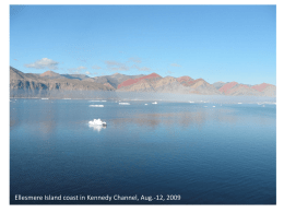 Ellesmere Island coast in Kennedy Channel, Aug.-12, 2009  1 of 27