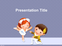 Presentation Title • Download template powerpoint lainnya di • http://goo.gl/BFa5s0
