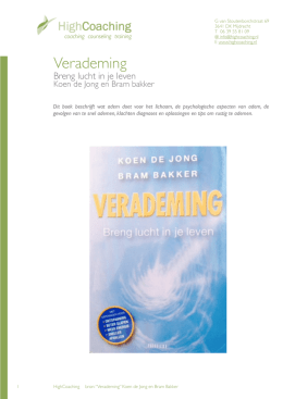 Koen Bakker - highcoaching.nl