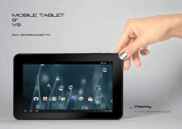 "MOBILE TABLET 9"" V9"