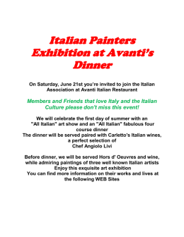 Read more about this event - Italian Association of Arizona