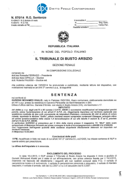 Download Documento - Diritto penale contemporaneo