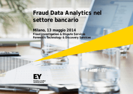 Come funzionano i forensic data analytics?