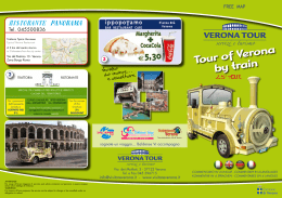 Tour of Verona by train
