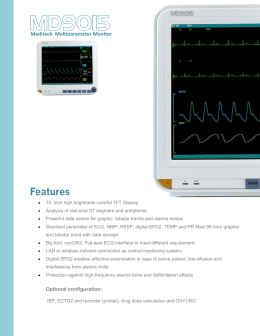 MD9015  Multiparameter-Patient-Monitor/Multiparameter-Patient-Monitor-15-inch