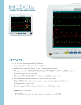 Multiparameter-Patient-Monitor-12-inch/MD9012-patient-monitor