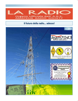la radio 11-2014 - Amateur Radio Society