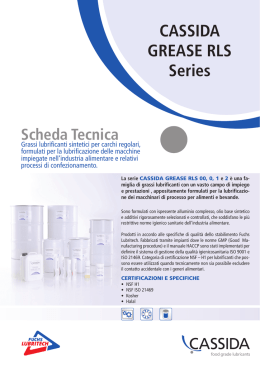 CASSIDA GREASE RLS Series