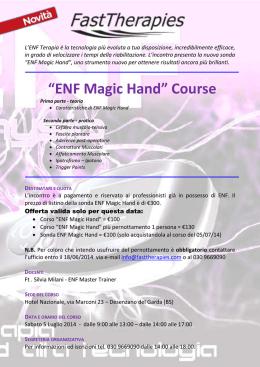 ENF Magic Hand - Fast Therapies