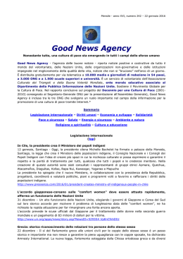 Good News Agency - Easy News Press Agency