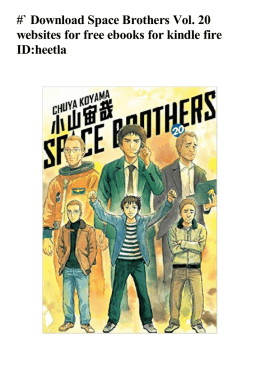 #` Space Brothers Vol. 20 websites for free ebooks for