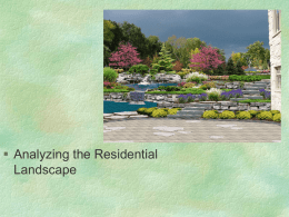  Analyzing the Residential Landscape