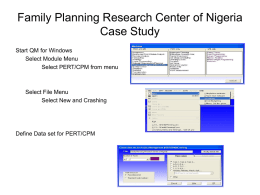 Family Planning Research Center of Nigeria Case Study