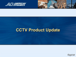 CCTV Product Update