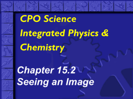 CPO Science Integrated Physics & Chemistry Chapter 15.2