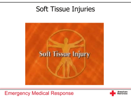 Soft Tissue Injuries Emergency Medical Response