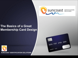 The basics of a great Membership Card Design