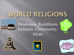 Religions ppt